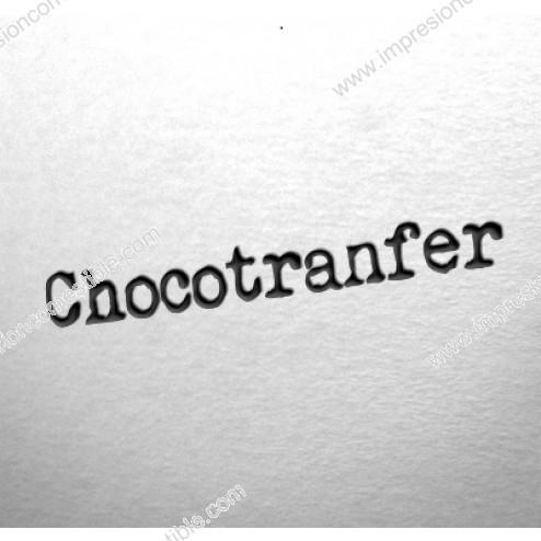 Impresión Personalizada en ChocoTransfer