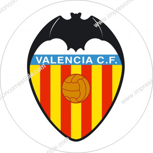 Oblea Escudo Valencia CF