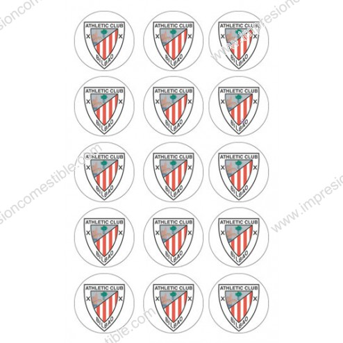 Oblea de Galletas Athletic de Bilbao