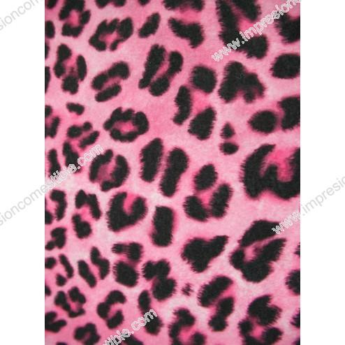 Estampado Leopardo Rosa