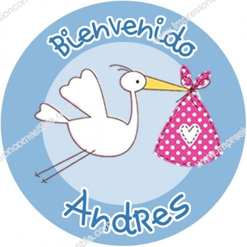 Oblea Baby Shower Niño