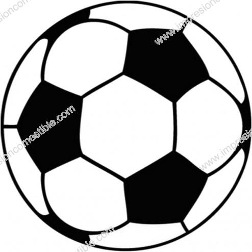 Oblea de Balon de Futbol