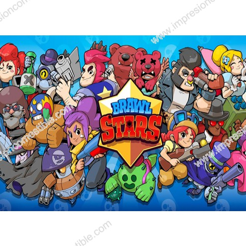 Oblea Brawl Stars Rectangular