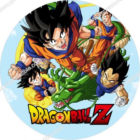 Oblea de Dragon Ball