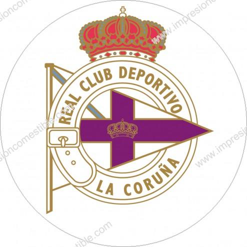 Oblea Escudo Deportivo de la Coruña