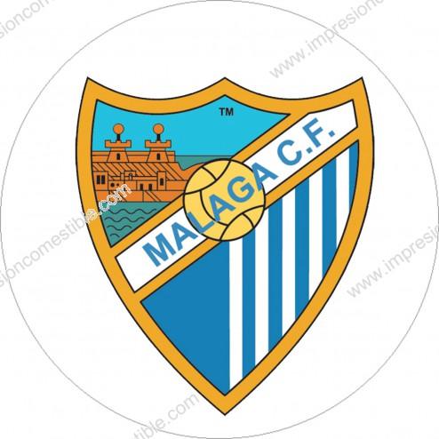 Oblea Escudo Malaga CF
