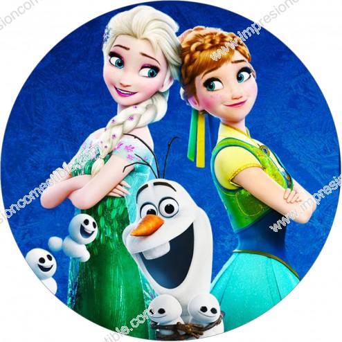 Oblea Frozen Fever