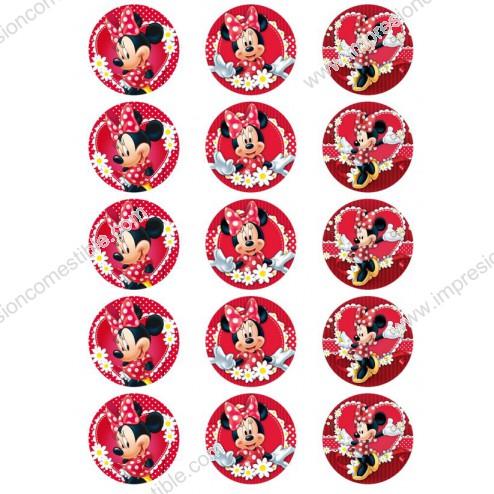 Oblea para Galletas de Minnie Mouse