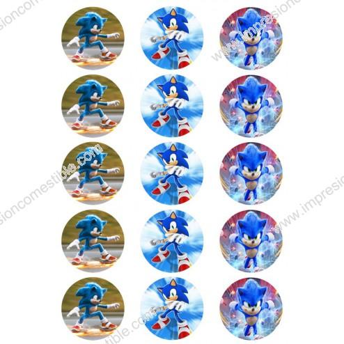 Oblea Galletas Sonic