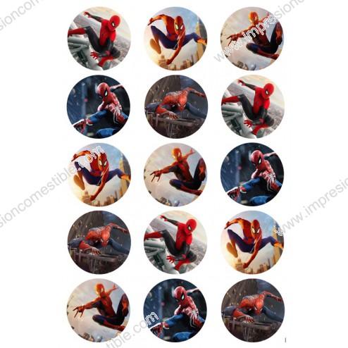 Oblea Galletas de Spiderman
