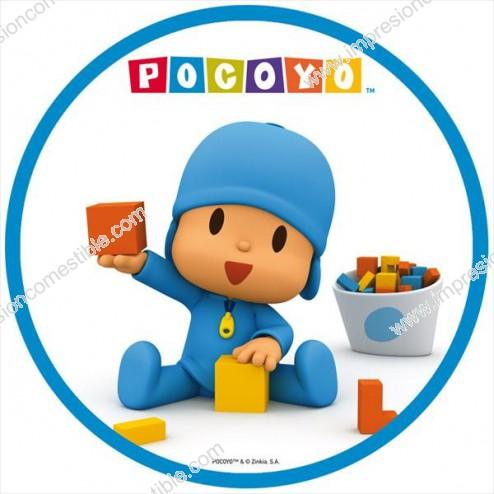 Oblea Pocoyo jugando