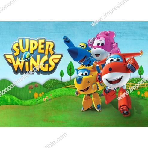 Oblea de Super Wings Dina4