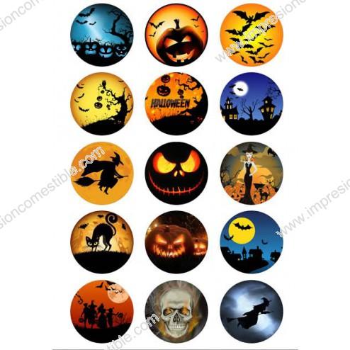 Oblea Galletas Halloween nº1