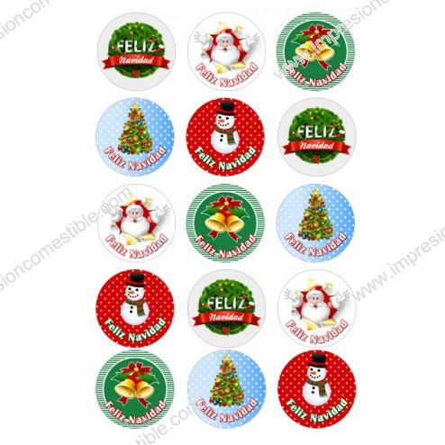 Oblea Galletas Navidad nº3