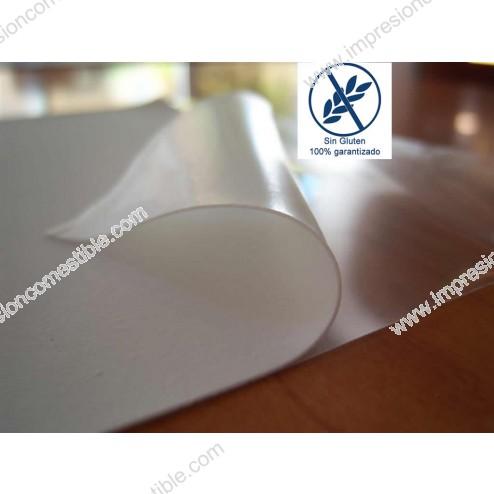 Impresión Comestible en papel de Arroz (Oblea) - Formato A3