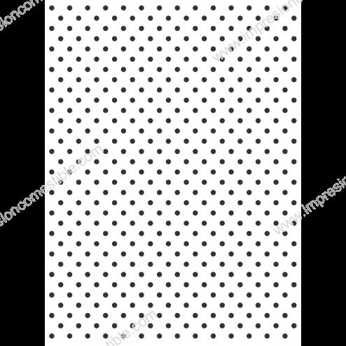 Estampado Blanco con Topos Negros