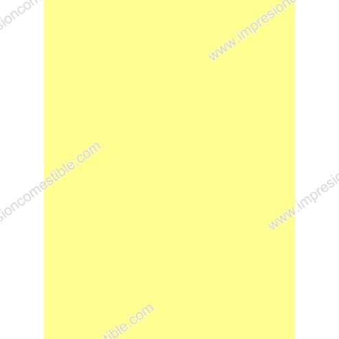 Wafer Paper Amarillo