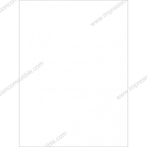 Wafer Paper Blanco