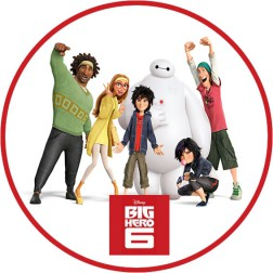 Oblea Big Hero 6