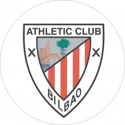 Impresión Comestible de Tarta Escudo Athletic Bilbao