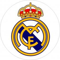 Impresión Comestible de Tarta Escudo Real Madrid