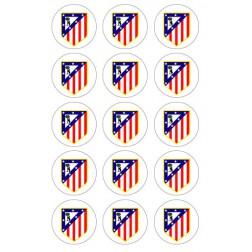 Oblea de Galletas Atletico de Madrid