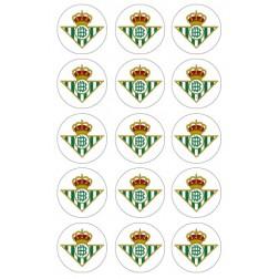 Oblea de Galletas del Betis