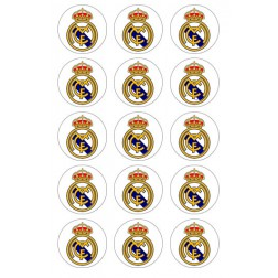 Obleas para Galletas Real Madrid