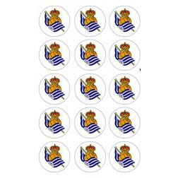 Oblea de Galletas Real Sociedad