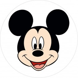Oblea Cara Mickey Mouse