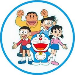 Oblea de Doraemon