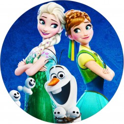 Oblea Frozen Fever