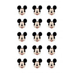 Oblea Galletas Cara de Mickey