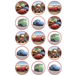 Oblea para Galletas de Cars