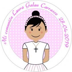 Oblea Galletas Comunión Niña nº15