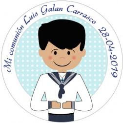 Oblea Galletas Comunión Niño nº12