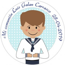 Oblea Galletas Comunión Niño nº13