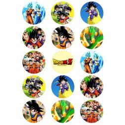 Oblea Galletas Dragon Ball