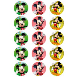 Oblea para Galletas de Mickey Mouse