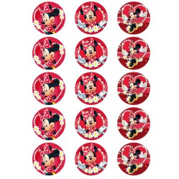 Oblea para Galletas de Minnie Mouse