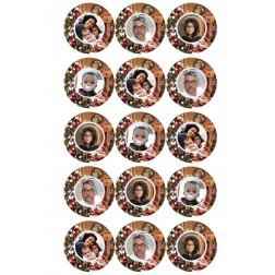 Oblea Galletas Navidad Personalizada con Foto nº2