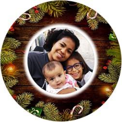 Oblea Navidad Personalizada con Foto nº2
