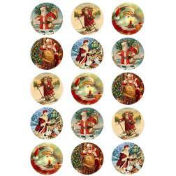 Oblea Galletas de Papa Noel