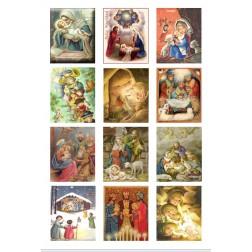 Oblea Galletas Navidad Vintage nº3