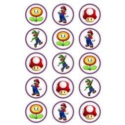 Oblea Galletas de Super Mario Bros