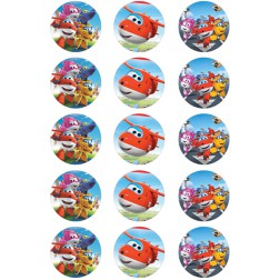 Oblea para Galletas de Super Wings