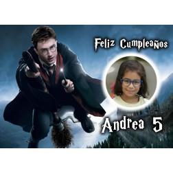 Oblea Harry Potter Montaje con Foto - Dina4