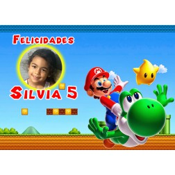 Oblea Mario Montaje con Foto - Dina4
