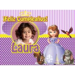 Oblea Princesa Sofia Montaje con Foto - Dina4