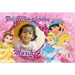 Oblea Princesas Disney Montaje con Foto - Dina4